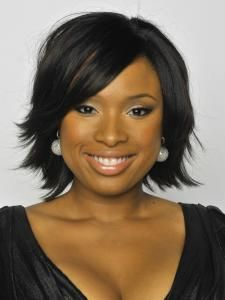 Jennifer Hudson Layered Shag Hairstyle