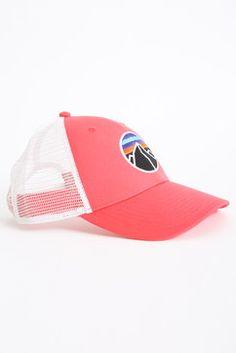 6b316032b5c49 Patagonia Men s Fitz Emblem Lopro Trucker Hat in PINK
