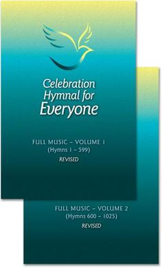 Celebration Hymnal for Everyone: Revised Full Music Edition conforming to the English translation of the revised Roman Missal 2 volume set. English Translation, For Everyone, Celebration, Sticks, Music, Roman, Muziek, Music Activities, Craft Sticks