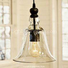 luz pendiente de la vendimia antigua cortina de cristal - EUR € 107.24
