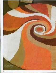 Коврики своими руками в технике ковровой вышивки. Обсуждение на LiveInternet - Российский Сервис Онлайн-Дневников