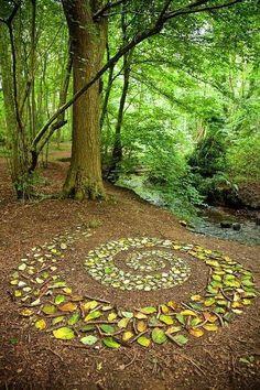 Land Art, Outdoor Art, Outdoor Gardens, Outdoor Decor, Dream Garden, Garden Art, Forest Art, Magical Forest, Environmental Art