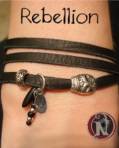 Image of Rebellion NTIO Bracelet/Necklace by Andy Biersack