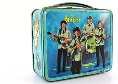 The Beatles - 1965 Blue Metal Lunchbox.