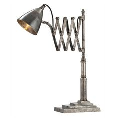 """Search Results for """"arteriors fraiser vintage silver desk lamp – domino Home Office Design, Modern House Design, Modern Interior Design, Pretty Things, Bliss Home And Design, Task Lamps, Antique Desk, Tiffany Lamps, My New Room"""