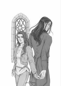 Sister of the Night Fantasy Romance, Fantasy Books, Marah Woolf, Sarah J Maas Books, Book Aesthetic, Character Ideas, Anime Couples, Book Art, Sisters