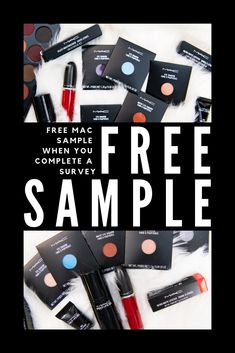 Get your beauty on with a free Mac Sample. Complete a short consumer survey and we'll send you a Mac Freebie! Free Mac Samples, Free Makeup Samples, Free Stuff By Mail, Get Free Stuff, Queens Cosmetics, Consumer Survey, Freebies By Mail, Avon Lipstick, Get Free Makeup