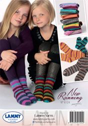 Réalisation chaussettes filles rayées New Running