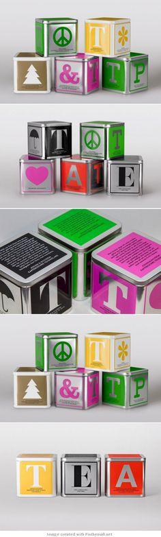 Johan Nystrom Tea packaging design PD