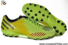 watch 8f1e3 9bc77 Green Yellow Black Red Adidas Predator Absolado LZ TRX AC 2014 Boots Cheap  Soccer Cleats,