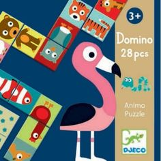 Buy Domino Animo - Puzzle Game at Mighty Ape Australia. A New Way To Play Domino Animo domino puzzle is a fun picture recognition and number matching game from Djeco. In most animal domino games children m. Puzzle Djeco, Backgammon, Animal Puzzle, Traditional Games, Musical Toys, Up Book, Science Experiments Kids, First Game, Educational Games