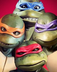 Movie Posters By Flore Maquin. Flore Maquin is one of the designer artists who has made significant studies in the field of digital art. Ninja Turtles Art, Teenage Mutant Ninja Turtles, Thundercats, Elias Koteas, Mini Turtles, Cinema Tv, Cartoon Tattoos, Caricatures, Family Portraits