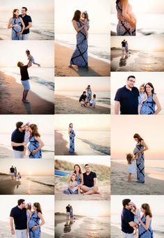 Chick's Beach Family Maternity Session - Virginia Beach Photographer — Melissa Bliss Photography