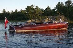 Rare 1939 24' Greavette Streamliner Classic Antique Wooden Boats For Sale | Pb674 | Port Carling Boats