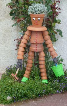 Une création originale pour décorer le jardin