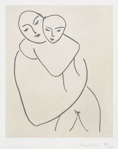 Matisse, Madonna and Child, 1950 - 1951