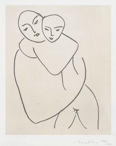 Henri Matisse, La Madonna con il Bambino, 1950-1951.