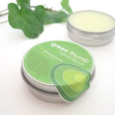 Green Thumb Hand Repair  Natural Moisture for by DressGreen, $5.00