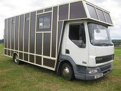 #LeylandDaf LF 45 150 carries up to 4 horses plus living area | For sale on #HorseDeals today