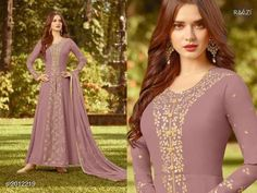 685269528b Rama Fashions Raazi series Designer Georgette Embroidered Occasionally  Traditional Look Party Wear Heavy Anarkali Branded Long Dress Single Pieces  Wholesale ...