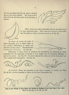 1895 - Cusack's freehand ornament. A text book with chapters on elements, principles, and methods of freehand drawing, for the general use of teachers and students .. by Armstrong, Charles