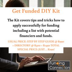 Get Funded DIY Kit, Access funding, Directory of financiers, Government Loans, Raising Capital, Commercial Bank, Do You Really, Enough Is Enough, Diy Kits, Step Guide, Confident, Connection
