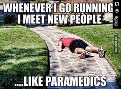 Gym humor Running-me. #Repost @9gag with @repostapp. ・・・ My relationship with running. #9gag #Argh @9gagmobile