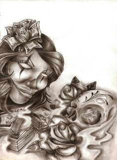 My Hispanic background on Pinterest | Chicano Art, Chicano and ...