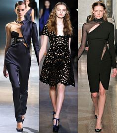 Découpes laser - 20 fashion trends for Autumn-Winter 2012-2013