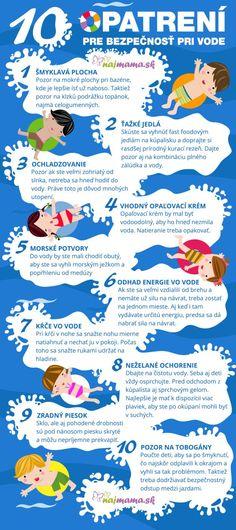 10 opatrení pre bezpečnosť pri vode | Najmama.sk