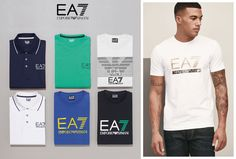 For the guys who head straight out after their workout, these casual pieces from EA7 are for you!