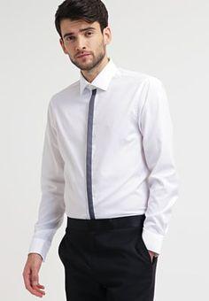 c2202d9ba4997 Overhemden CK Calvin Klein CANNES FITTED - Zakelijk overhemd - white wit  €  39
