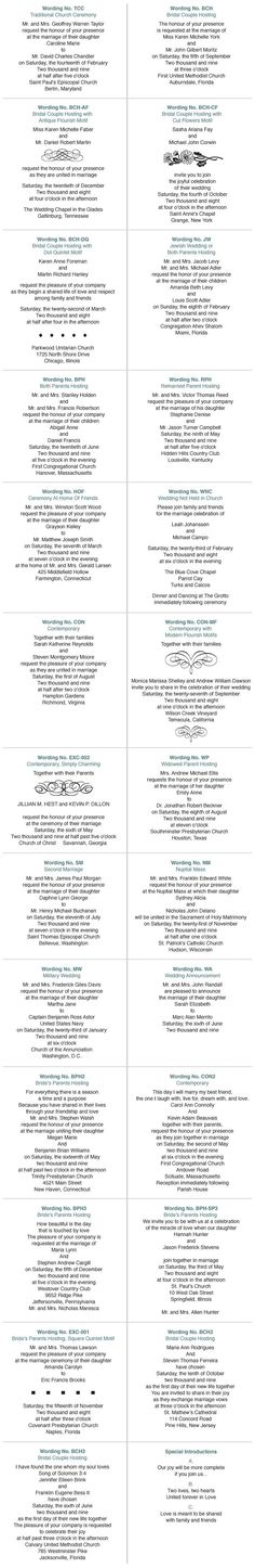 When the time comes ->Ill be soo glad I pinned this! wedding invites wording...gahh this is necessary!!