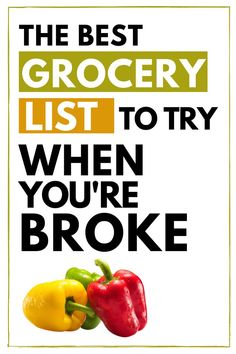 Need a cheap and healthy grocery list alternative to do the job when funds are low? In this post I'll share with you ways to save money on groceries with this Cheap Healthy Grocery List For When You're Broke. Frugal Grocery Shopping | Living Cheap Saving Money | How to Spend Less on Groceries | Ways to Save Money on Groceries | Low income living Save Money On Groceries, Ways To Save Money, Money Saving Tips, Grocery Lists, Frugal Living Tips, Budgeting, Good Things, Healthy, Shopping Lists
