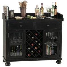 Howard Miller Cabernet Hills Home Bar Liquor Cabinet
