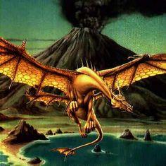 Curiosidades e Criaturas Interessantes: Dragão Dourado