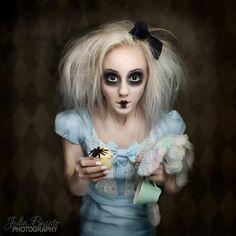creepy alice in wonderland costume - Google Search