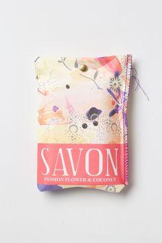 Savon Soap in Passion Flower & Coconut  $8.00 @ anthropologie.com