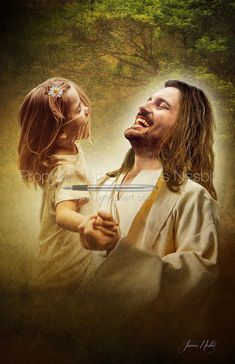 Laughing Love — Products 3 – Prophetic Art of James Nesbit - Various Subject Matter — Prophetic Art of James Nesbit - Jesus Christ Painting, Jesus Artwork, Jesus Tattoo, Jesus Smiling, Image Jesus, Jesus Drawings, Pictures Of Jesus Christ, Jesus Love Images, Jesus Wallpaper