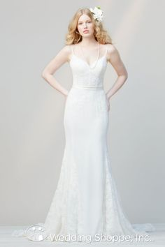 Love Marley by Watters Bridal Gown Katy / 52233, $699, Sz. 10 available at Debra's Bridal Shop at The Avenues, 9365 Philips Hwy., Jacksonville, FL 32256, (904) 519-9900.
