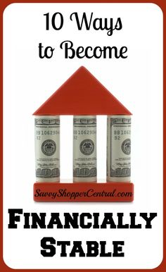 10 Easy Ways to become Financially Stable