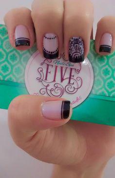 Shellac Nail Designs, Shellac Nails, Manicure And Pedicure, Nail Polish Art, Nails Tumblr, Jena, Nail Arts, How To Do Nails, How To Look Pretty