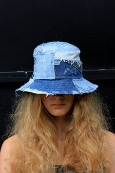 Women Hat Fashion Cap Summer Hats 2019 Gents Flat Caps Modern Head Scarf Styles Designer Caps Sale Best Summer Hats For Guys Women Hat Fashion Cap Summer Hats 2019 Gents Flat Caps Modern Head Sca – eeshoop Denim On Denim, Denim Hat, Denim Shoes, Denim Skirts, Denim Overalls, Denim Outfit, Jeans Recycling, Types Of Hats, Mode Jeans