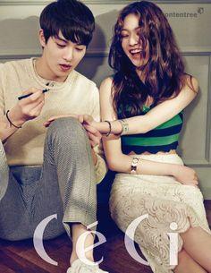 We Got Married lee jong hyun and gong seung yeon Lee Jong Hyun, Gong Seung Yeon, We Got Married Couples, We Get Married, Wgm Couples, Cute Couples, Couple Posing, Couple Shoot, Jonghyun Seungyeon
