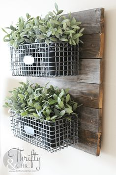 These 8 Fixer Upper Style DIYs Will Give You The Most AMAZING Farmhouse Decor On The Cheap! #cheaphomedecor