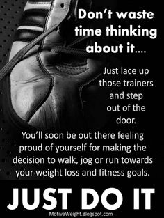 So true if I think about it I don't want to workout. So, I just Do it! Lady Fitness, Fitness Diet, Fitness Goals, Health Fitness, Workout Fitness, Health Motivation, Weight Loss Motivation, Running Motivation, Motivation Quotes