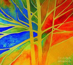 Two Lives Intertwined  Painting  - Two Lives Intertwined  Fine Art Print