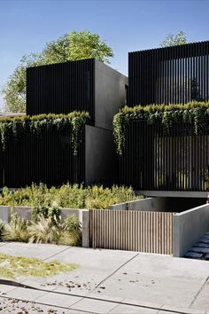 A concept of twin homes, designed by Arkhaus studio in Australia. By combining wood, simplicity & landscape, the result is a modern and environmentally friendly design.