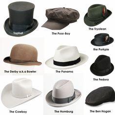 7db09cb58cb more types of mens  hats Types Of Mens Hats