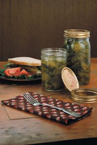 Bernardin Home Canning: Bread and butter pickles
